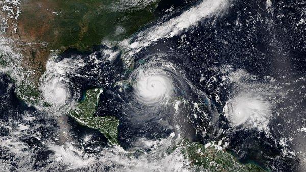 Учёные сравнили силу урагана «Флоренс» с самыми мощными тайфунами в истории