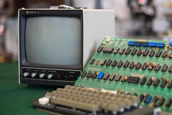 Apple-1 ушел с молотка за 375 тысяч долларов