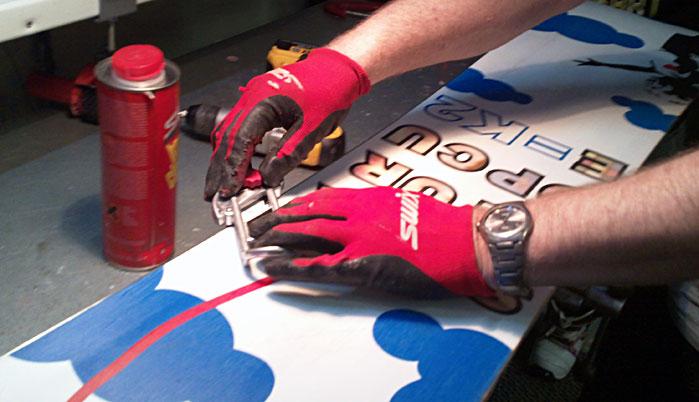 Как найти мастера по заточке канта на сноуборде?