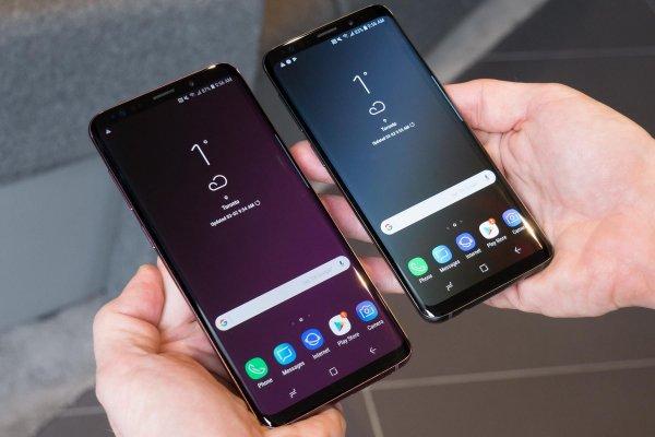 Появились снимки возможного вида нового Samsung Galaxy S10