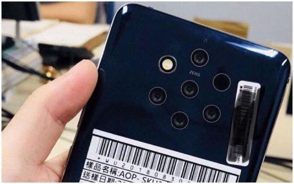 Передовой смартфон Nokia назвали Nokia 9 PureView