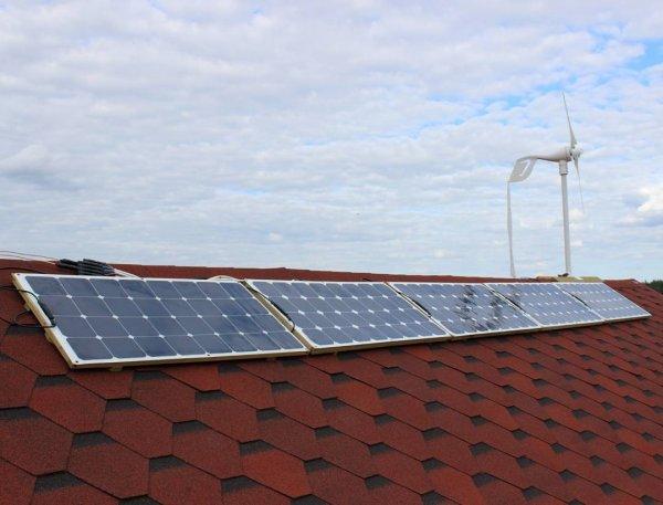 В Чернобыле начала функционировать первая солнечная электростанция