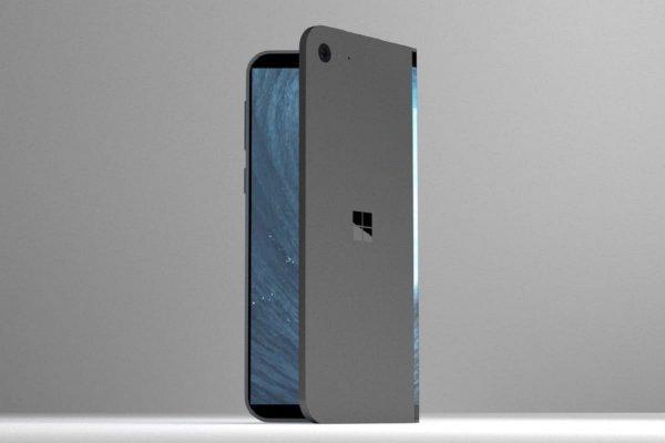 Microsoft выпустит новый смартфон с тремя гибкими экранами