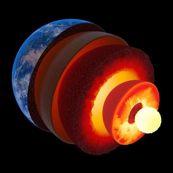 Учёные: Состав внутреннего ядра Земли похож на золото и платину
