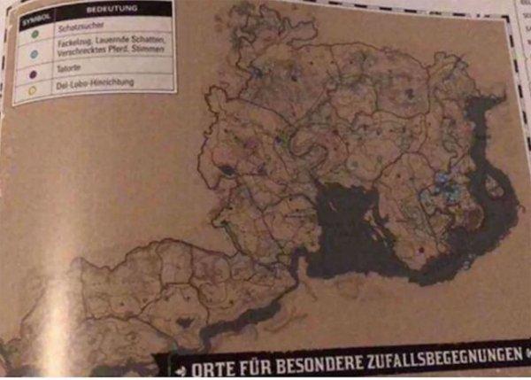 В Instagram появилась полная карта игры Red Dead Redemption 2