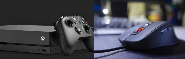 Xbox One хотят оснастить поддержкой мыши