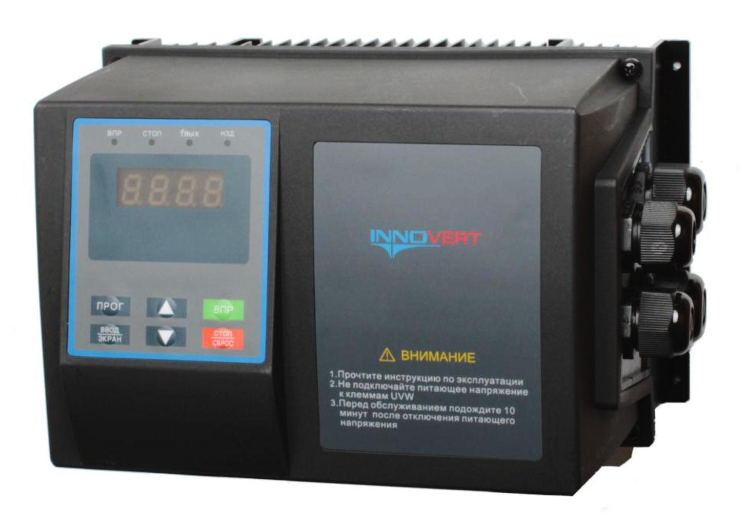 Частотный преобразователь 7,5 кВт 380 В
