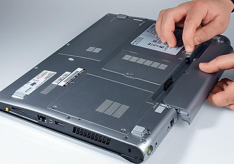 Ремонт батареи ноутбука HP