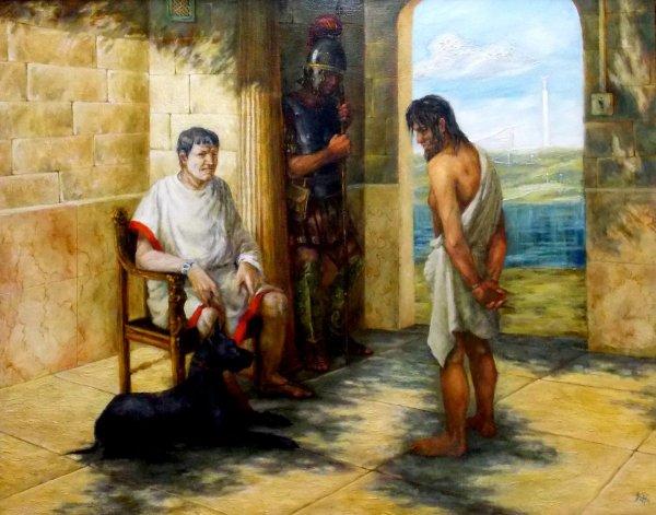В Израиле обнаружили имя Понтия Пилата на древнем кольце
