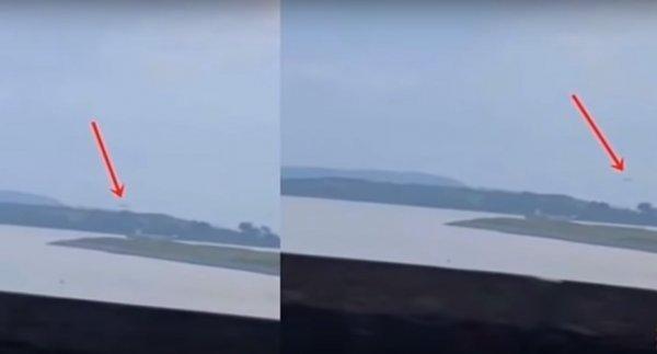Уфологи на острове Спайк отследили сигарообразный НЛО
