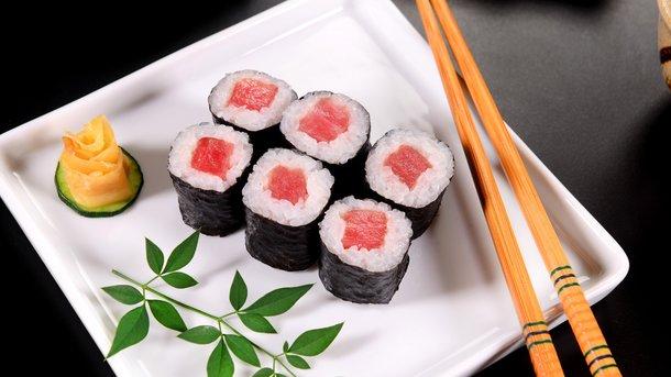 Профессиональная доставка суши