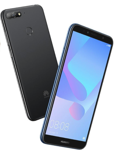 Компания Huawei представила новый бюджетный смартфон
