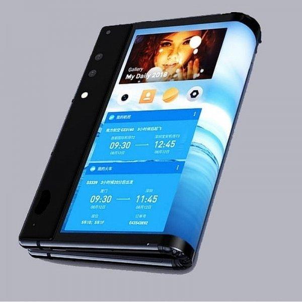 Первый складной Xiaomi засняли на видео