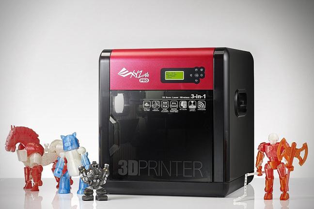 Компания XYZ Printing представила миру 4 эксклюзивных новинки