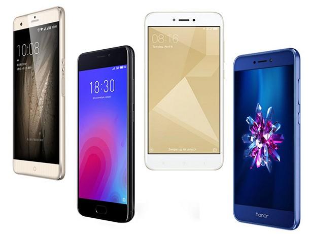Большой выбор китайских смартфонов