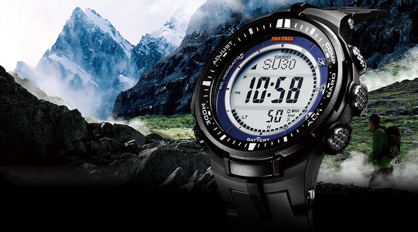 Часы Casio ProTrek для любителей активного отдыха