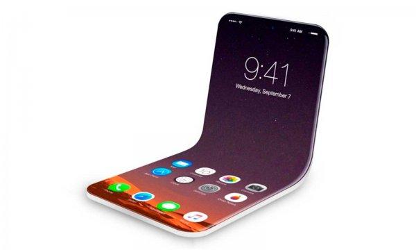 Apple планирует выпуск складного смартфона