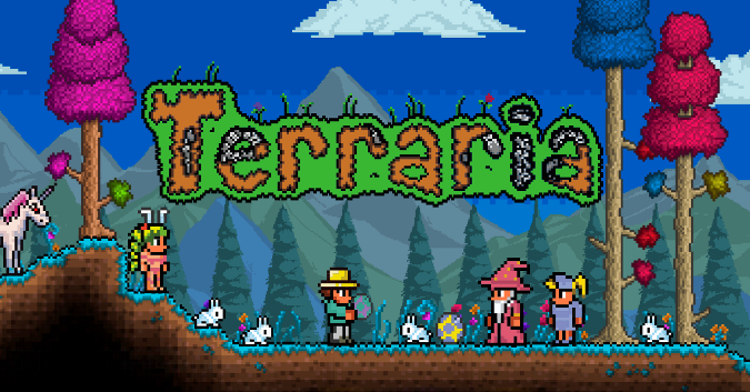 Невероятная игра «Террария» для андроид-устройств