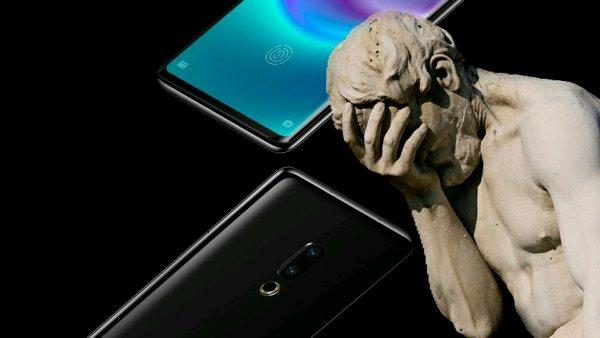 Смартфон без кнопок и дырок с треском провалил попытки на краудфандинге