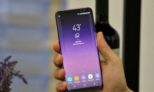 Теперь как S10: Samsung выпустила обновление камеры для Galaxy S8