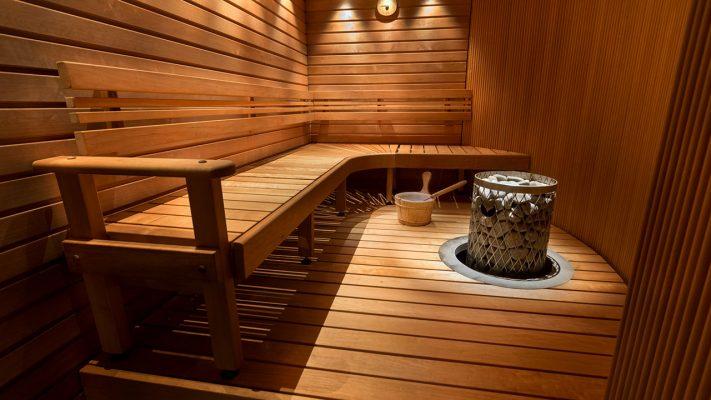 Современная дровяная печь для бани