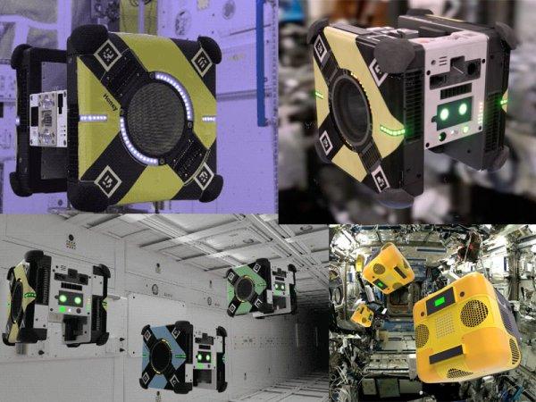 «Подай-принеси»: NASA запустит на МКС роботов-помощников в апреле