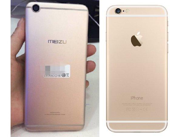 «Спалились» на воровстве: Детали от iPhone «ложатся» в Meizu Pro как влитые
