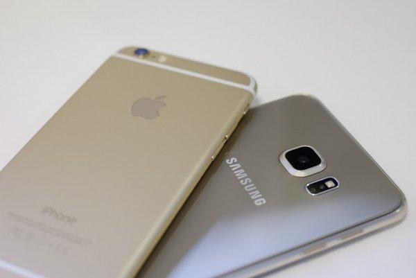 Apple обогнала Samsung по продажам смартфонов