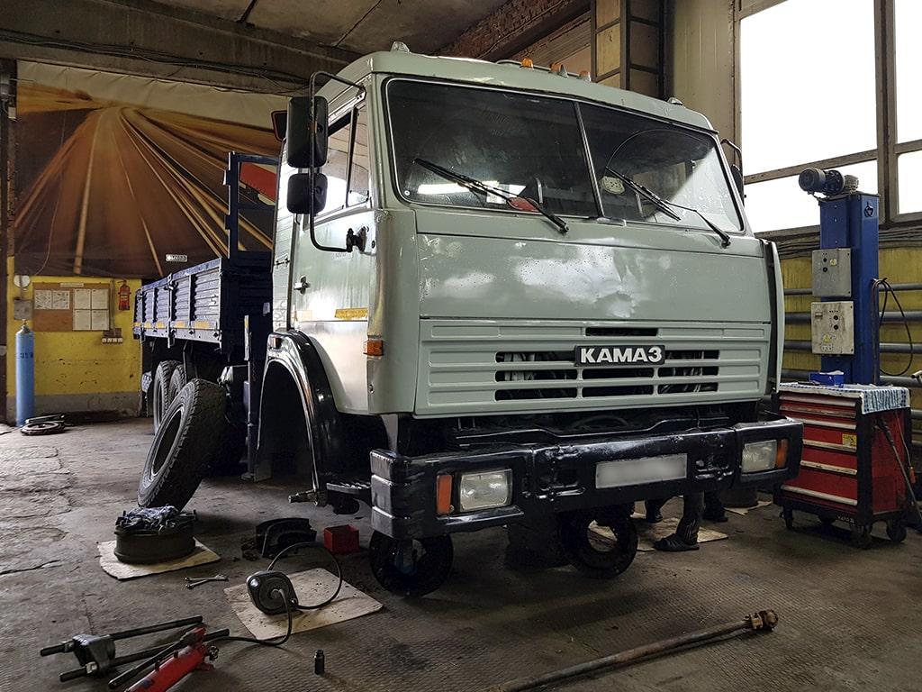 Качественный ремонт грузовиков КАМАЗ