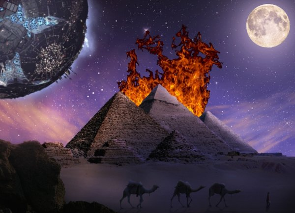 Последнее воскресенье: Земля начала «сходить с ума» из-за полнолуния и гравитации Нибиру