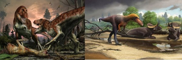 Предком тираннозавра оказался крошечный ящер, похожий на утконоса