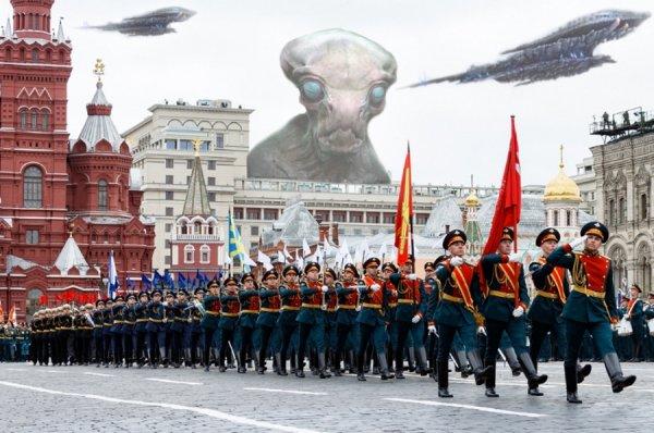 Авиация бессильна: Воздушную часть парада Победы отменили из-за нашествия НЛО - уфолог