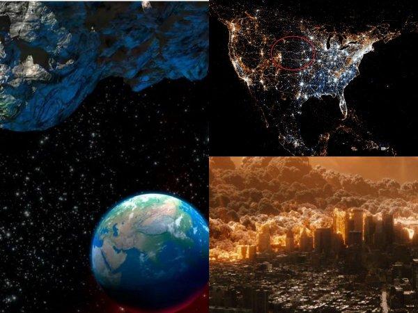 В NASA назвали точную дату Армагеддона: Сегодня ночью в Землю врежется астероид