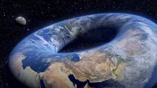 Земля свернется в «бублик»: Черная дыра в центре планеты вывернет ее наизнанку – NASA скрывает