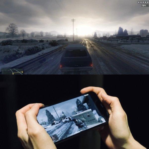 GTA V протестировали на iPhone XS Max