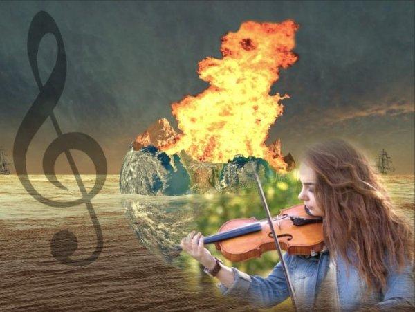 Глобальное потепление представили в виде музыки