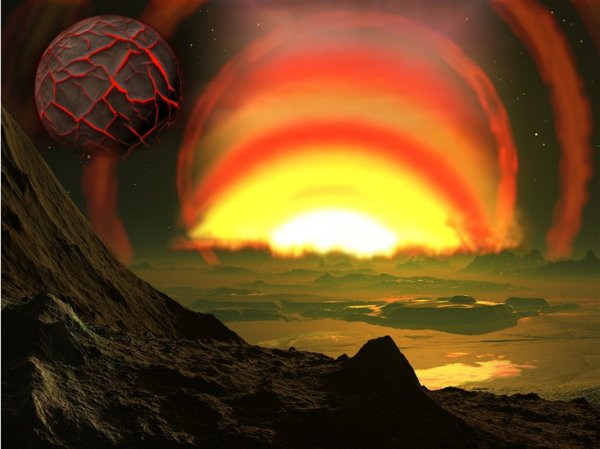 Нибиру открыла портал через Солнце: Фигура аннунака «взорвала» Сеть