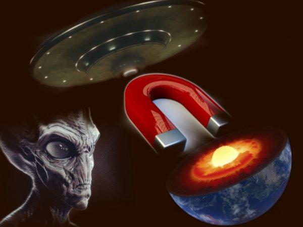 «Магнитный» НЛО вошёл в ядро Земли: Видео посадки пришельцев «слили» на YouTube
