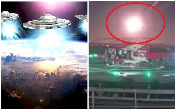 Оружие из космоса: Над Землёй пролетела инопланетная «ядерная бомба»