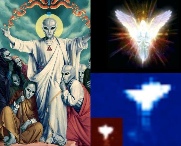 «Ангельские» НЛО захватили Солнце: Пришельцы с Нибиру вышли на связь