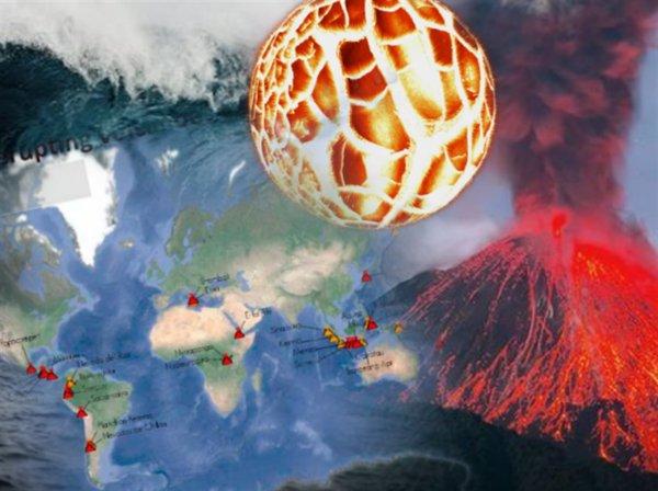 Земля кровоточит: Активность вулканов по всей планете подтвердила Апокалипсис