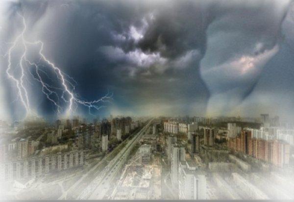 Столица содрогнется от разгула стихии - На Москву идет штормовой Апокалипсис