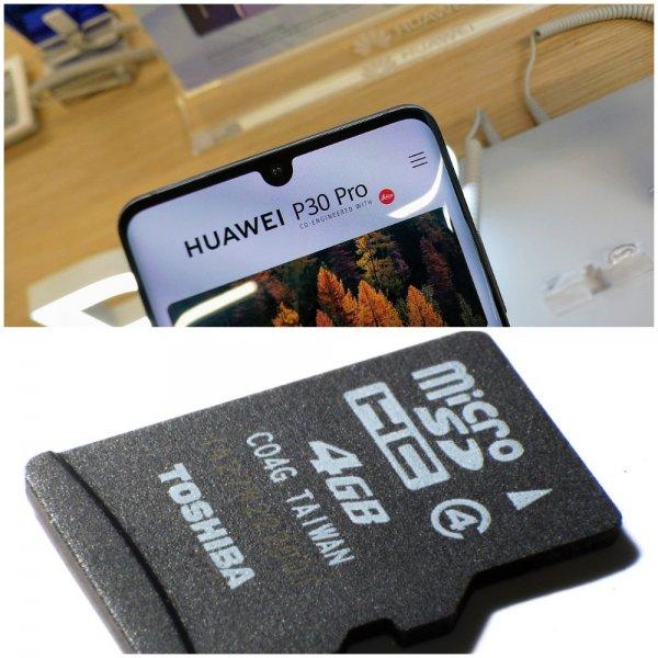 Официально: Смартфоны Huawei смогут использовать SD-карты