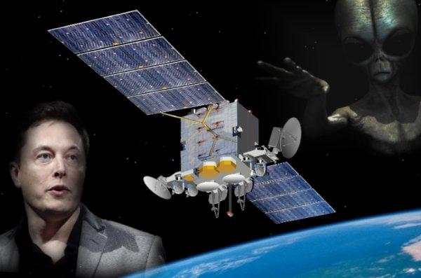Он уничтожит планету! Маск окружает Землю спутниками для связи с пришельцами