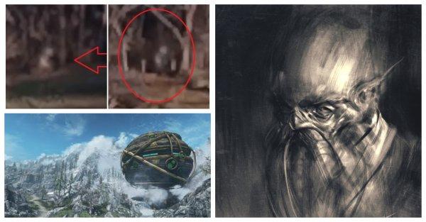 Бежал с каторги Зоны-51? Возвращение «гнома-пришельца» сняли на видео