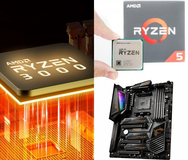 Хорошие и плохие новости: Всё что нужно знать о процессорах AMD Rizen 3-го поколения