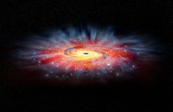 Монстр из Млечного пути обездвижен: Магнитные поля защищают Землю от чёрной дыры