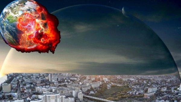 «Это Нибиру!»: Жители Саратова заметили в небе «купол смерти»