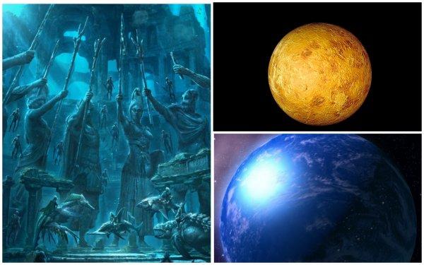 Сестра-близнец Земли была планетой-океаном: Атланты с Венеры колонизировали Голубую планету