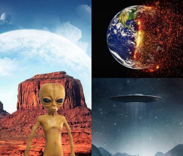 12 лет до конца света: Глобальное потепление организовали инопланетяне